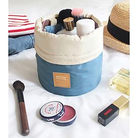 Túi Đựng Mỹ Phẩm Du Lịch Hàn Quốc dây rút, chống thấm xếp gọn, đồ trang điểm, make up, dầu gội, sữa tắm trong vali Bag in Bag