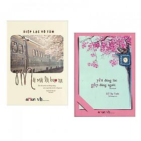 Combo Sách Ngôn Tình Cực Hay: Mãi Mãi Là Bao Xa + Yêu Đúng Lúc, Gặp Đúng Người (Tặng Bookmark Thiết Kế)