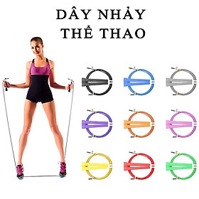 Dây nhảy thể dục nhựa PVC cao cấp có thể tuỳ chỉnh độ dài dây, tối đa 3m-12