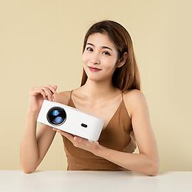 Biểu đồ lịch sử biến động giá bán [Phiên bản toàn cầu] Điện thoại máy chiếu XIAOMI Wanbo X1 cùng màn hình 1080P được hỗ trợ 300 ANSI Lumens Chiếu phim không dây chống bụi tại nhà Rạp chiếu phim ngoài trời - EU Plug