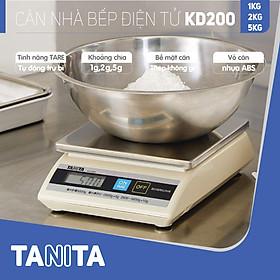 Cân điện tử nhà bếp TANITA KD200 (Chính hãng Nhật Bản), Cân nhà bếp 1kg, Cân nhà bếp 2kg, Cân nhà bếp 5kg, Cân Nhật, Cân trọng lượng, Cân chính hãng, Cân thực phẩm, Cân thức ăn, Cân tiểu ly điện tử, Cân chính xác