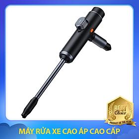 Máy Rửa Xe Cao Áp Cao Cấp, Công Suất Định Mức 28.8 Wh, Dung Lượng Pin Lớn, Tiện Lợi