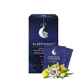 (Combo 10g) Collagen Uống Tác Động Kép Đẹp Da & Ngủ Ngon Sleepinskin- NK Chính Hãng Từ Úc