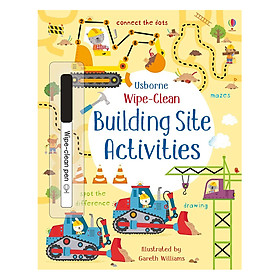 Usborne Wipe-Clean: Building Site