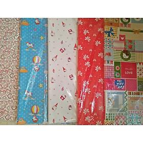 Sét 20 tờ giấy lụa Hàn Quốc gói quà( 1 sét nhiều mẫu)