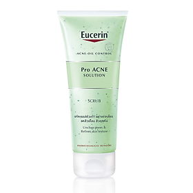 Gel Tẩy Da Chết Da Mụn  Eucerin Pro ACNE Solution Scrub(100ml)