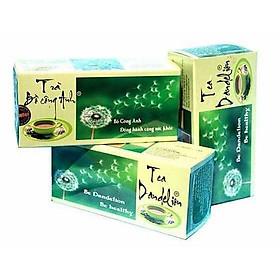 Combo 3 Hộp Trà Bồ Công Anh P&K - mát gan, giải độc, ngừa ung thư (50 túi lọc)