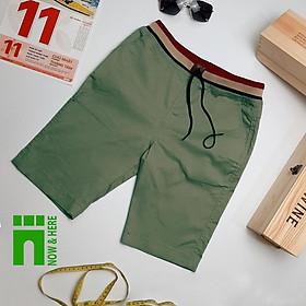 Quần short kaki lưng thun, chất liệu day dăn, size từ 45kg đến BIG SIZE 90kg - NH shop