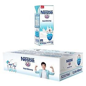 Combo 2 Thùng Hộp Sữa Nước Có Đường Nestlé (96 hộp 180ml)