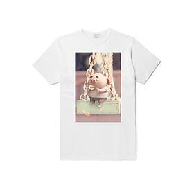 Hình đại diện sản phẩm Áo đồng phục heo hồng đẹp cotton dày dặn đủ size 5-110kg - HH004