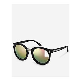 Mắt kính mát nữ tròn tráng gương gọng kính nhựa trang trí viền UV400 Jaliver Young SP – 1082