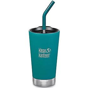 Klean Kanteen Cốc thép cách nhiệt của Mỹ 473ml-xanh ngọc