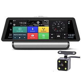 Camera Hành Trình Androi A818 8 Inch 4G Phát Wifi, Quản Lý Xe Từ Xa