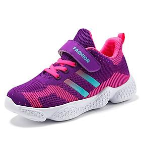 Giày thể thao bé gái trẻ em gái phong cách Hàn Quốc thoáng khí từ 5 tuổi - 15 tuổi