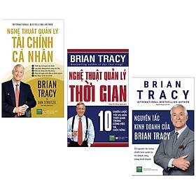 Combo 3 Cuốn Kỹ Năng Quản Lý: Nghệ Thuật Quản Lý Tài Chính Cá Nhân + Nghệ Thuật Quản Lý Thời Gian + Nguyên Tắc Kinh Doanh Của Brian Tracy (Bí Kíp Tạo Chiến Lược Trong Kinh Doanh - Tặng Kèm Bookmark Green Life)