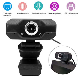1080P Webcam USB Camera Video High Definition Web Cam with Mic for Online Studying Meeting Calling