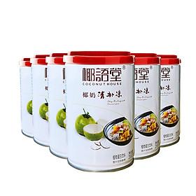 Ngũ cốc thực dưỡng nước cốt dừa thanh bổ lượng Coconut House 1 thùng 12 lon