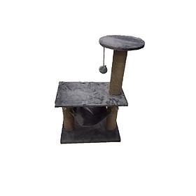 Trụ cào móng có võng cho mèo (56x36x85cm)