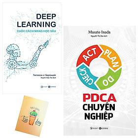 Combo PDCA Chuyên Nghiệp và Deep Learning - Cuộc Cách Mạng Học Sâu ( Tặng Kèm Sổ Tay Xương Rồng)