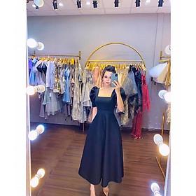 Đầm dự tiệc cổ vuông TRIPBLE T DRESS - size S/M/L/XL(kèm ảnh/video thật)MS211V