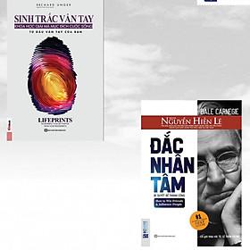 Combo 2 cuốn sách thu phục lòng người: Sinh trắc vân tay + Đắc Nhân Tâm