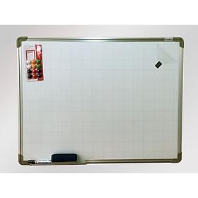 Bảng từ trắng viết bút Hàn Quốc 40x60 cm  Kèm quà tặng