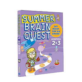 Summer brain quest grade 2&3 - sách cho trẻ 7-8 tuổi