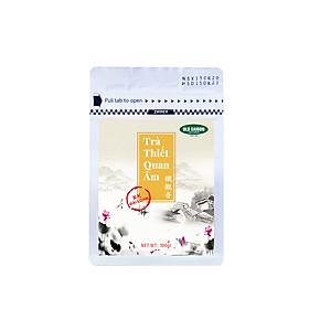Trà Thiết Quan Âm Cao Cấp - Gói 100gr - Nguyên liệu pha trà, trà sữa - Vị trà dịu ngọt thơm ngon, làm tinh thần nhẹ nhàng, sảng khoái, không gây mất ngủ, quà biếu sức khỏe người thân