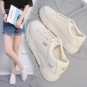 1021# Giày thời trang nữ - Giày sneaker nữ cổ thấp thể thao - Chất liệu nhung mềm mại