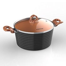 Nồi Ceramic Đáy Từ Sunhouse  SHG2024MCA - Đồng