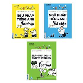 Bộ 3 Cuốn Ngữ Pháp Tiếng Anh Vui Nhộn (Học kèm App MCBooks Application) (Cào Tem Để Mở Quà) (Tặng Cuốn Sách Tự Luyện Ngữ Pháp TOEIC Trị Giá 190K)
