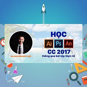 Khóa Học Illustrator, Photoshop Và Animate CC 2017 Thông Qua Bài Tập Thực Tế