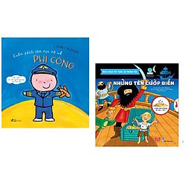 Combo 2 cuốn Cuốn sách lớn rực rỡ về phi công + Bách khoa tri thức đa tương tác - Những tên cướp biển