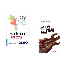 Combo 2 cuốn sách: OSHO - Hạnh Phúc Tại Tâm + Cung đàn số phận