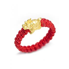 Nhẫn Handmade Long Quy vàng 24K Tài Lộc - ANCARAT
