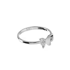 Nhẫn vàng trắng DOJI cao cấp 14K 0819R-LAL039-WG