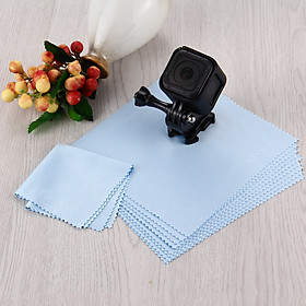 10pcs Soft Cleaning Cloth for GoPro Camera Lens LCD Tablet PC Mobile Phone TV Screen Glasses Mirror  Specification:10PCS