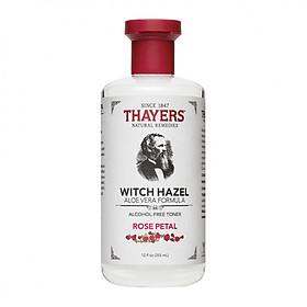 Nước hoa hồng không cồn Thayers Witch Hazel 355ml