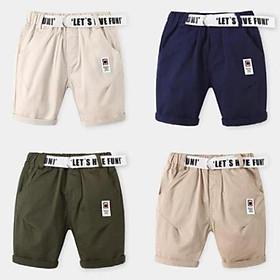 QN11Size100-140 (11-30kg)Quần short kaki cho bé - kiểu dáng lửngThời trang trẻ Em hàng quảng châu