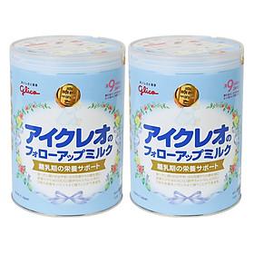 Combo 2 Sữa Công Thức Glico Icreo Follow Up Milk Số 9 (820g)