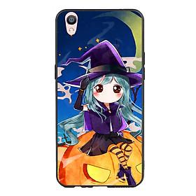 Hình đại diện sản phẩm Ốp lưng Halloween viền TPU cho điện thoại Oppo F1 Plus - Mẫu 04