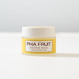 Mặt Nạ Enzyme Trái Cây Làm Sạch, Tẩy Tế Bào Chết Cho Da - PHA Fruit Enzyme Mask 40g Zakka Naturals