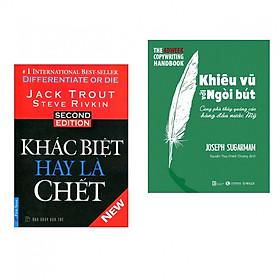 Combo Marketing - Bán Hàng: Khác Biệt Hay Là Chết + Khiêu Vũ Với Ngòi Bút (Bộ 2 cuốn - Tặng kèm bookmark Happy Life)