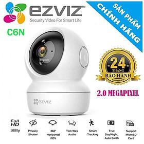 Camera wifi Ezviz C6N 1080p (2MP) theo dõi chuyển động thông minh không có điểm mù- Hàng chính hãng  (TẶNG KÈM ĐẦU ĐỌC THẺ NHỚ CAO CẤP)