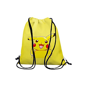 Túi Rút Unisex In Hình Pikachu BDCT596