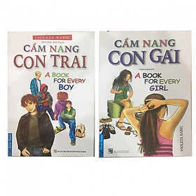 Bộ sách Cẩm Nang Con Gái, Cẩm Nang Con Trai