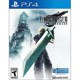 Đĩa Game Final Fantasy VII Remake - Hàng chính hãng