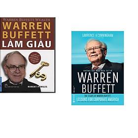 Combo 2 cuốn sách: Warren Buffett Làm Giàu + Những Bài Học Đầu Tư Từ Warren Buffett