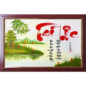 Tranh thư pháp chữ Tài Lộc