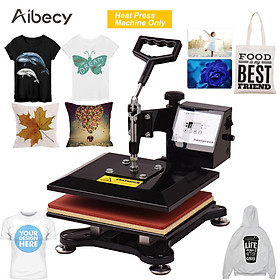 Aibecy 10x12 Inch Swing Away Combo Digital Heat Press Thermal Transfer Machine for T-Shirt Clothes Phone Case Bag